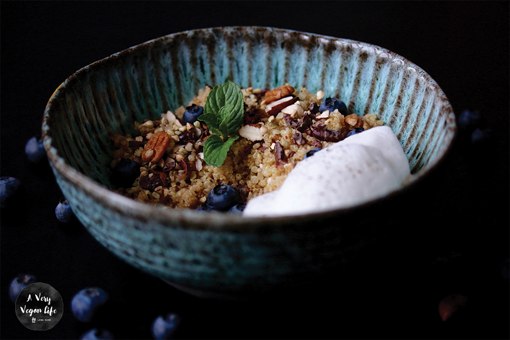amaranth quinoa fr hst ck mit hanfsamen a very vegan life. Black Bedroom Furniture Sets. Home Design Ideas